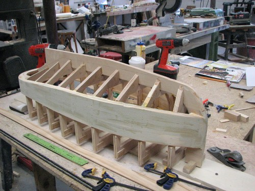 Starting Firefly's hull