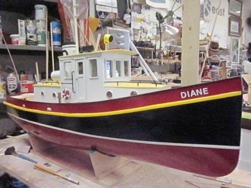 Yard tug Diane Large Web view