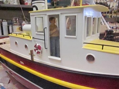 Yard tug Diane manned Large Web view